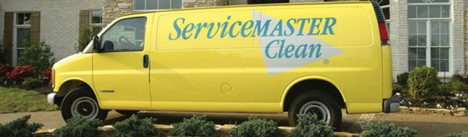 ServiceMaster-MB cleaning vehicle