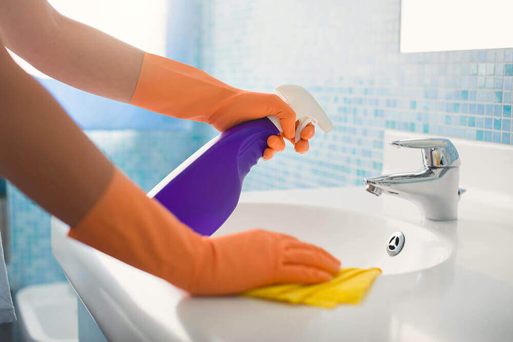 Basine cleaning service